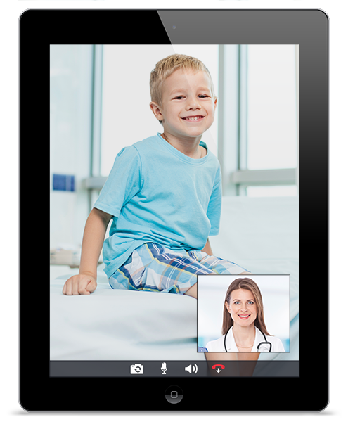 Telehealth Patient iPad